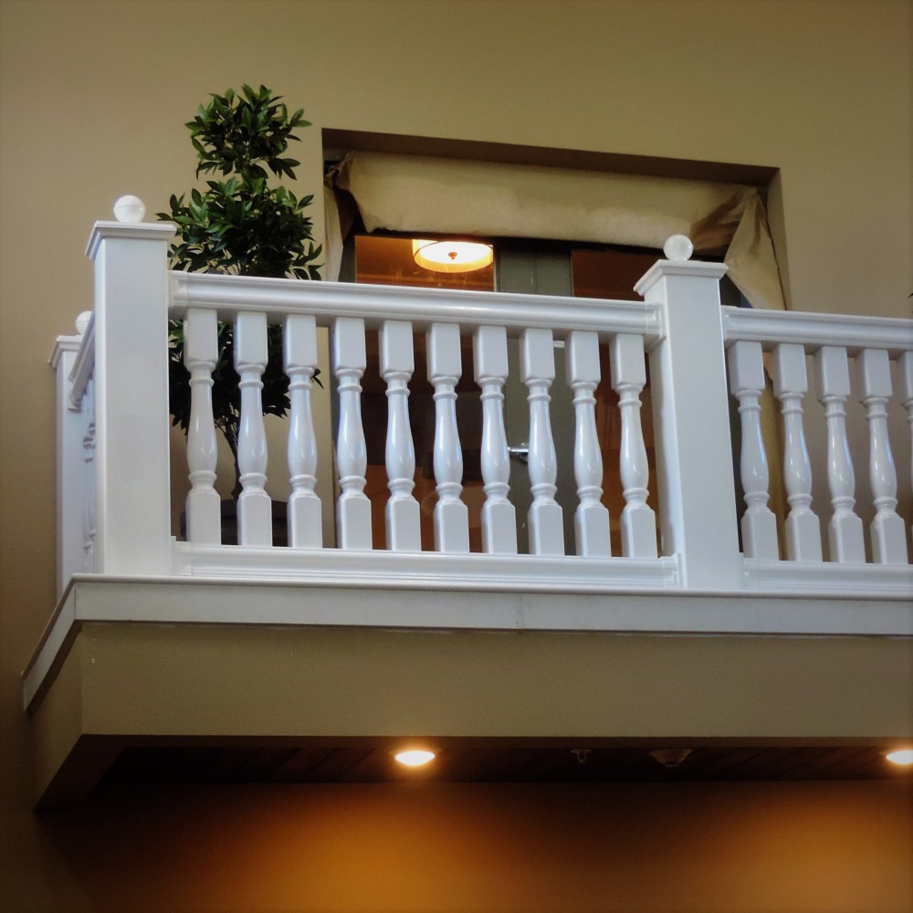 Balustrade rail by Finyl Sales