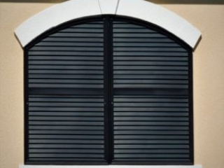 Polyurethane Louvers made by Finyl Sales for the Villages in Florida.