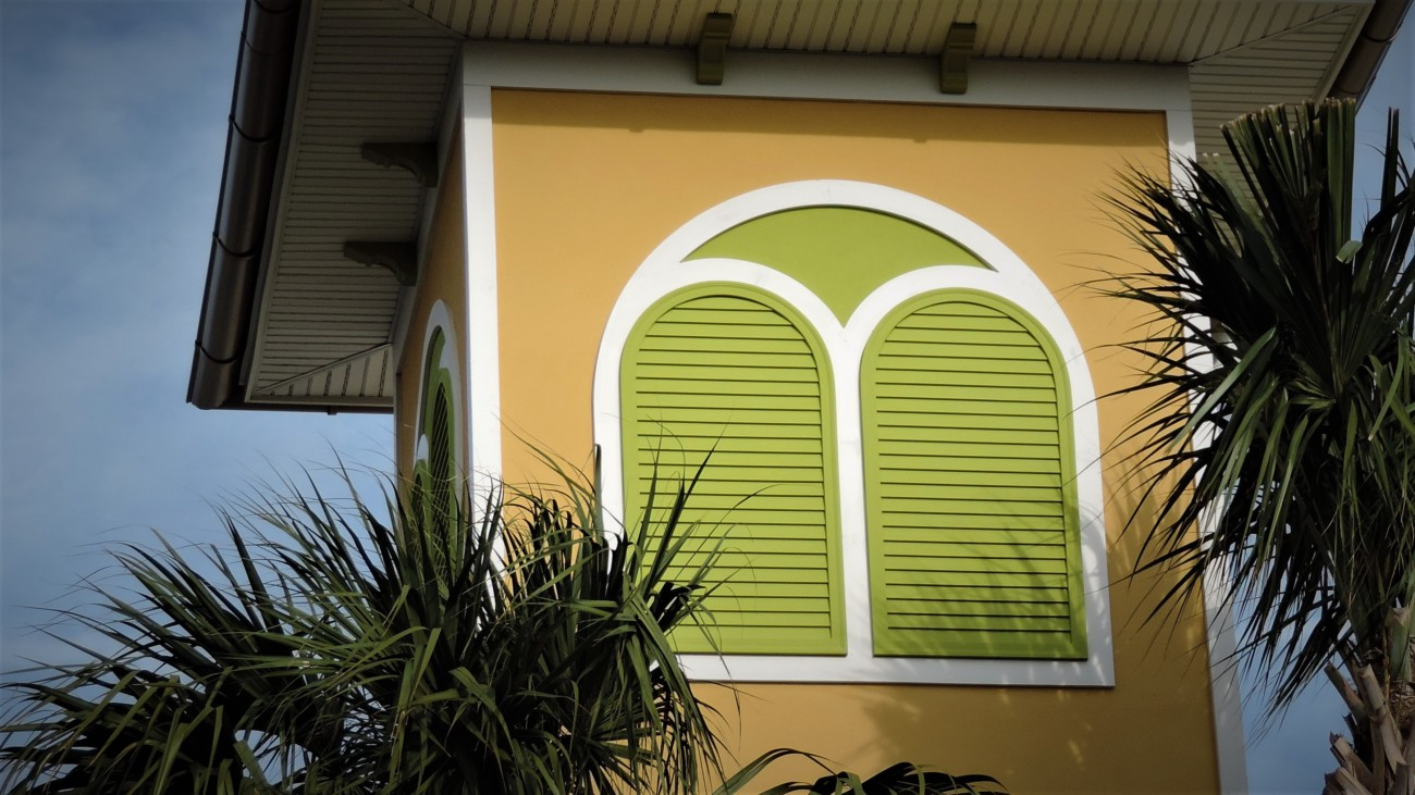 10. pinellas green louver wide