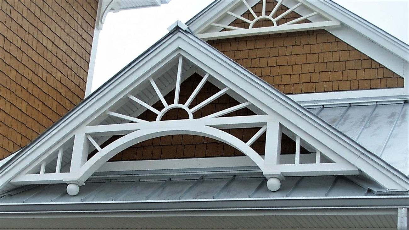 Seabreeze Gable Ends 3 wide