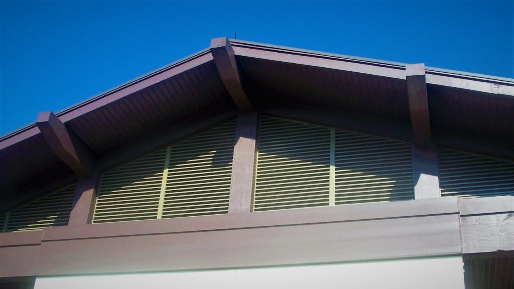 aluminum louvers made by Finyl Sales Inc