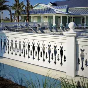 FSI Cellular PVC Railing Finyl Sales Vinyl rail custom