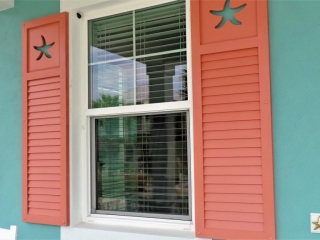 FSI Celllular PVC Shutters made by Finyl Sales, Inc.