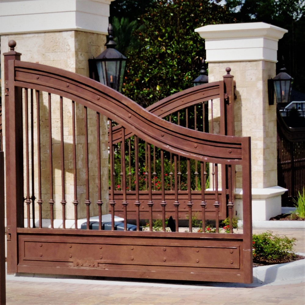 Entry Gates made by Finyl Sales Inc.