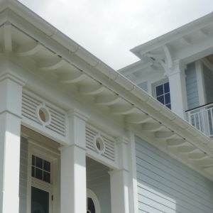 Brackets corbels made of cellular PVC by Finyl Sales Inc.