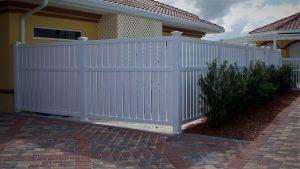 Vinyl Rigid PVC fencing by Finyl Sales.