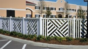 Vinyl Rigid PVC fencing by Finyl Sales.