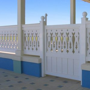 Pool Gates made by Finyl Sales